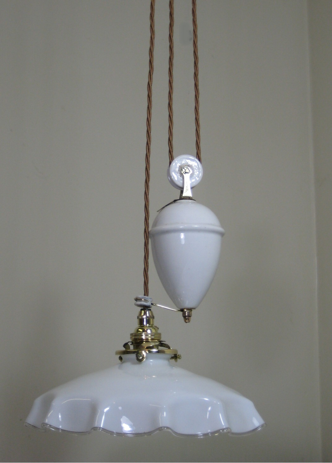 antique hanging lamp 3793