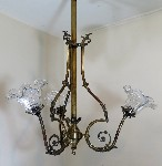 antique hanging lamp 3870