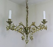 antique hanging lamp 4329