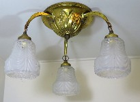 antique hanging lamp 4340