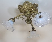 antique hanging lamp 4462