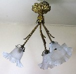 antique hanging lamp 4468