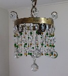 antique hanging lamp 4494